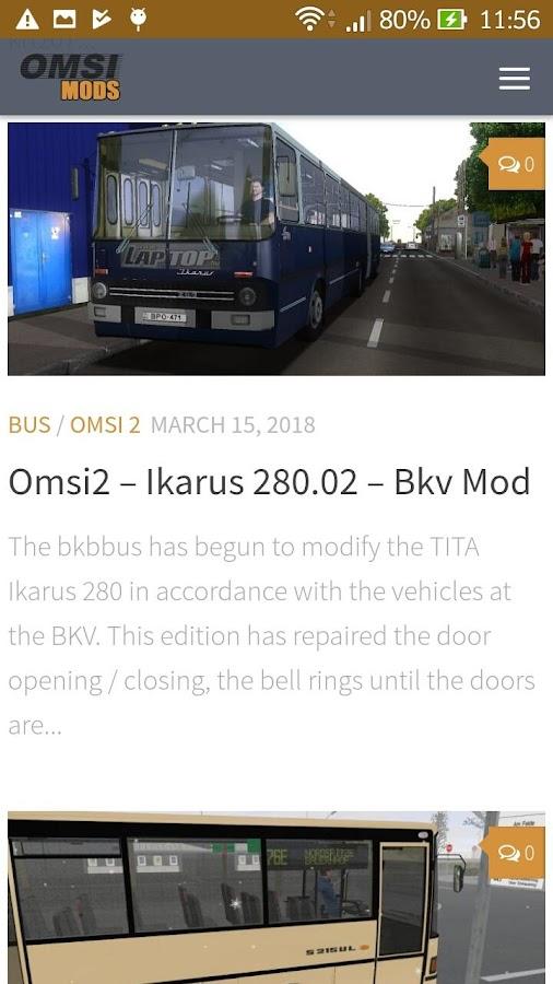 Omsi Bus Simulator Mods 1 0 APK Download - Android Simulation Games