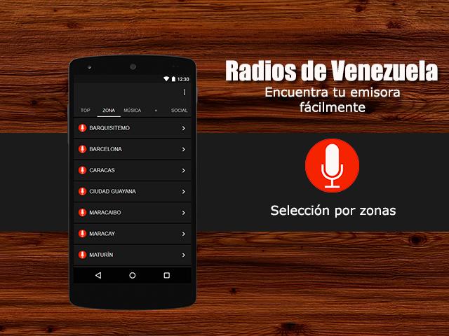 5dea246b83c38 Radios de Venezuela 1.0 screenshot 1 Radios de Venezuela 1.0 screenshot 2  ...