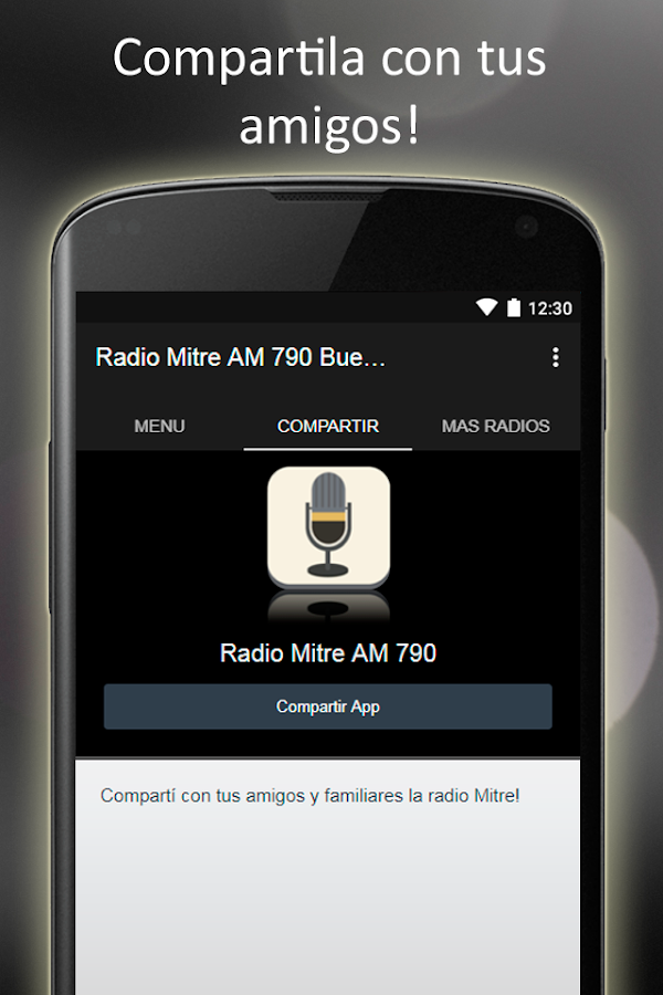 Radio Mitre AM 790 Buenos Aires 1 1 APK Download - Android