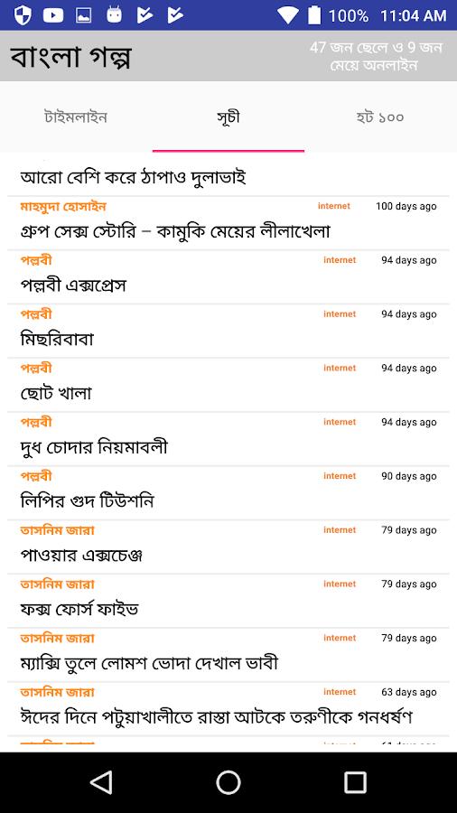 Bangla Choti (বাংলা গল্প চটি উপন্যাস