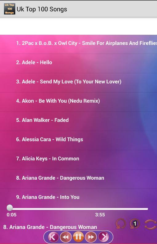 Uk Top 100 Songs Free 4.3 APK Download - Android Music & Audio Apps