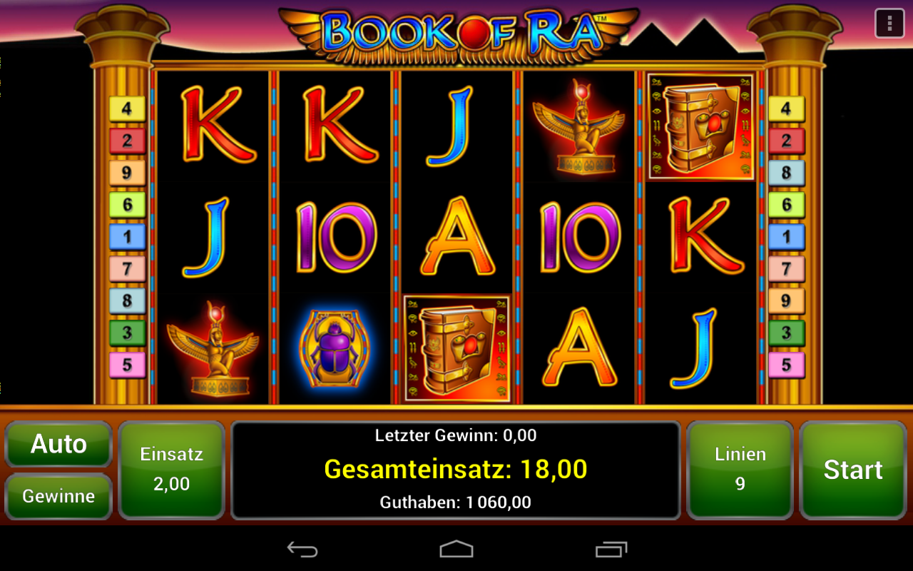 novo app book of ra download android