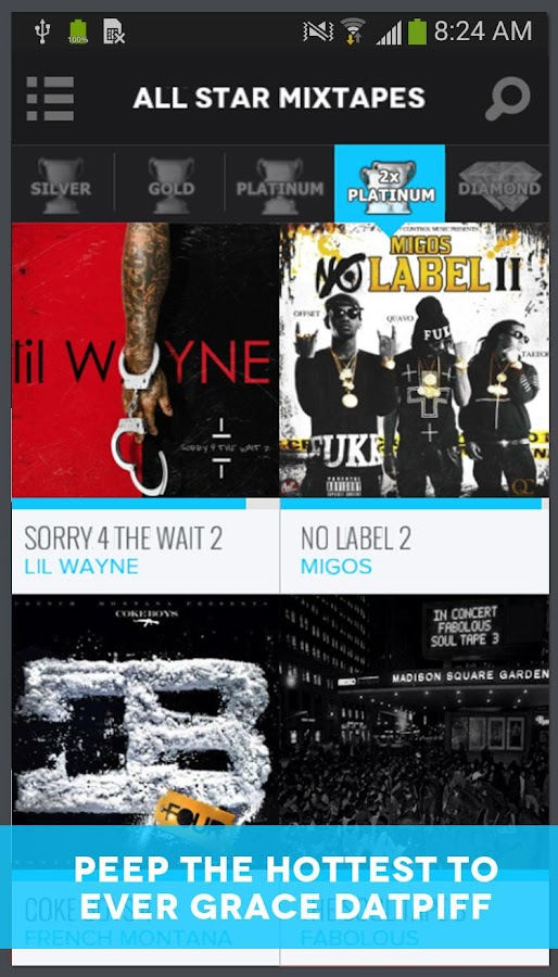 DatPiff - Mixtapes & Music APK Download - Android Music & Audio Apps