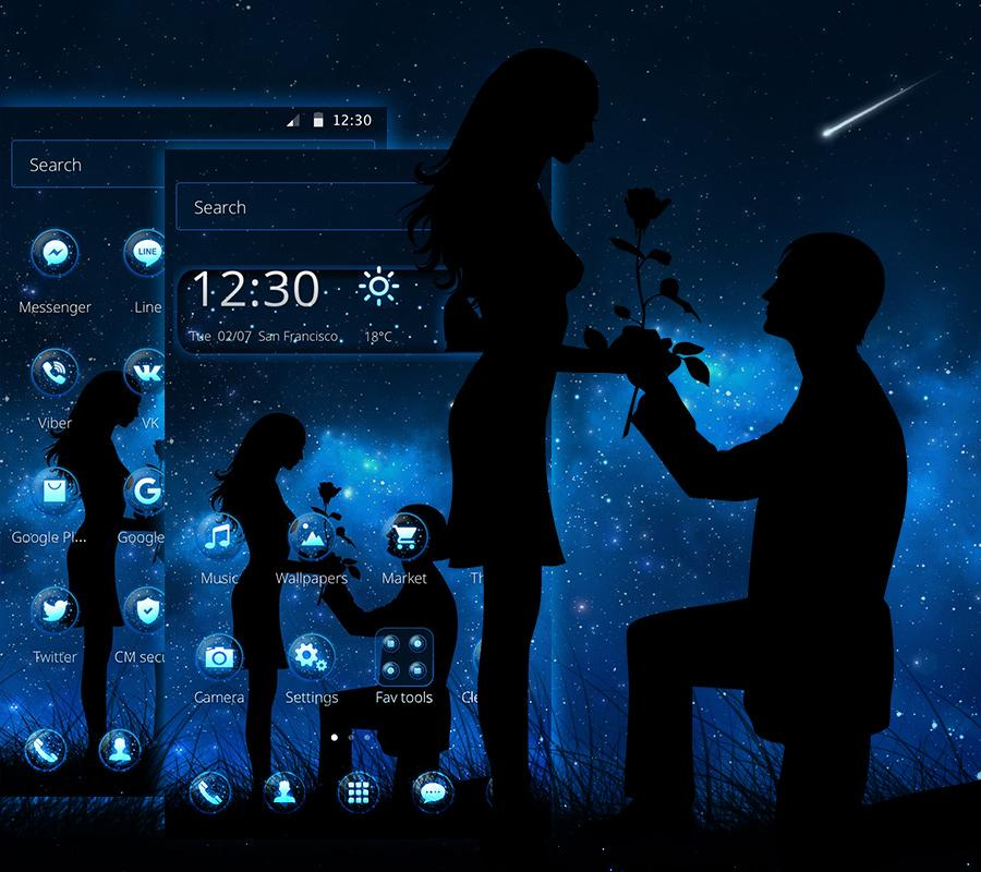 ☆ LOVE NIGHT THEME ☆ 1 1 10 APK Download - Android