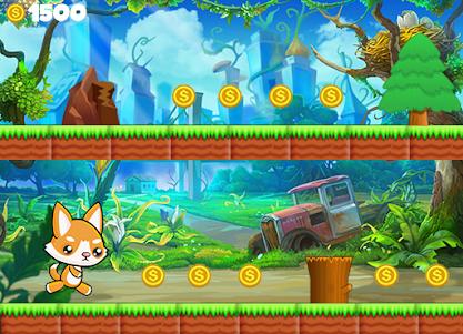 Subway Cat Kitten Run 1.1 screenshot 1