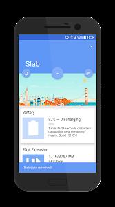 Slab Dashclock Host 1.0 screenshot 2