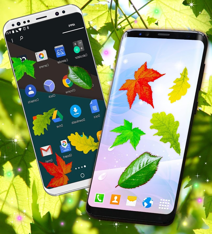 Leaves Magic Touch On Screen  Apk Download Android Personalization Apps