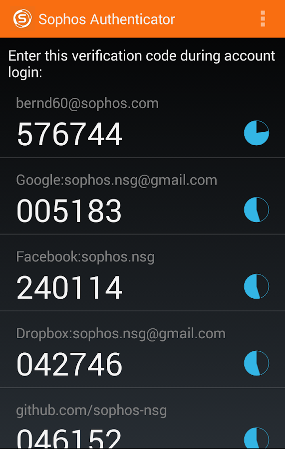Sophos Authenticator 3 1 APK Download - Android Tools Apps
