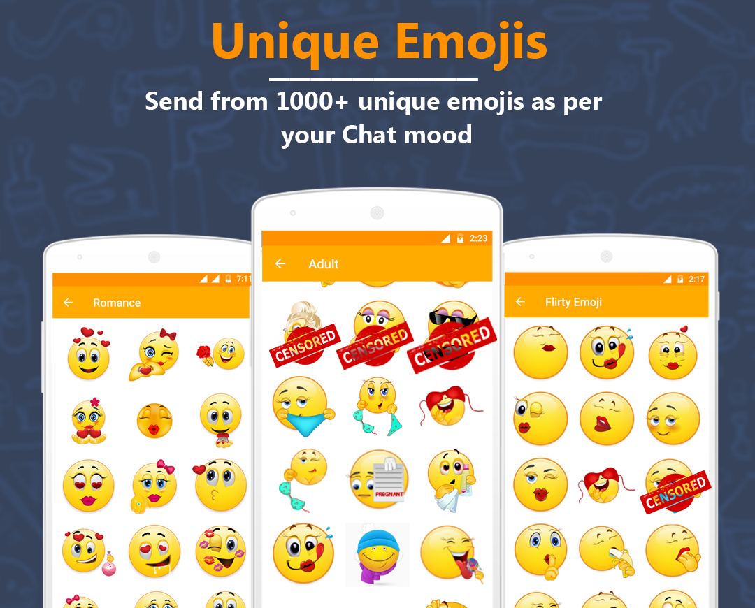 adult emojis for android