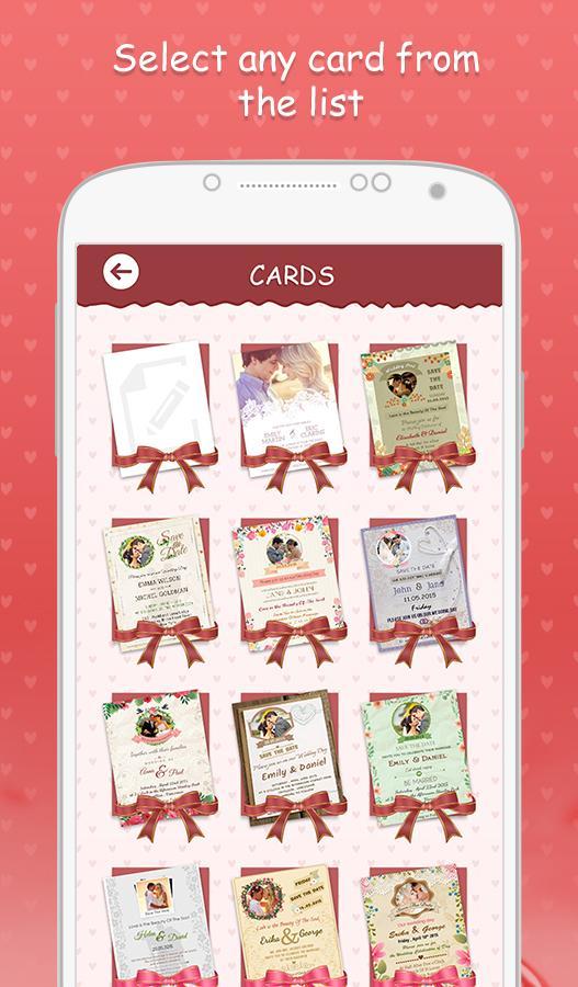 Wedding invitation cards 103 apk download android photography apps wedding invitation cards 103 screenshot 12 stopboris Choice Image