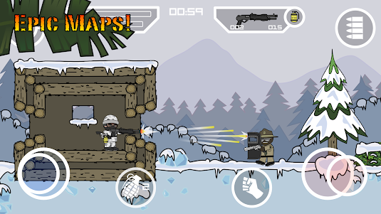 Doodle Army 2 : Mini Militia 5.3.7 screenshot 9