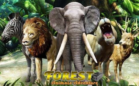 VR Forest Animals Adventure 1.9 screenshot 1