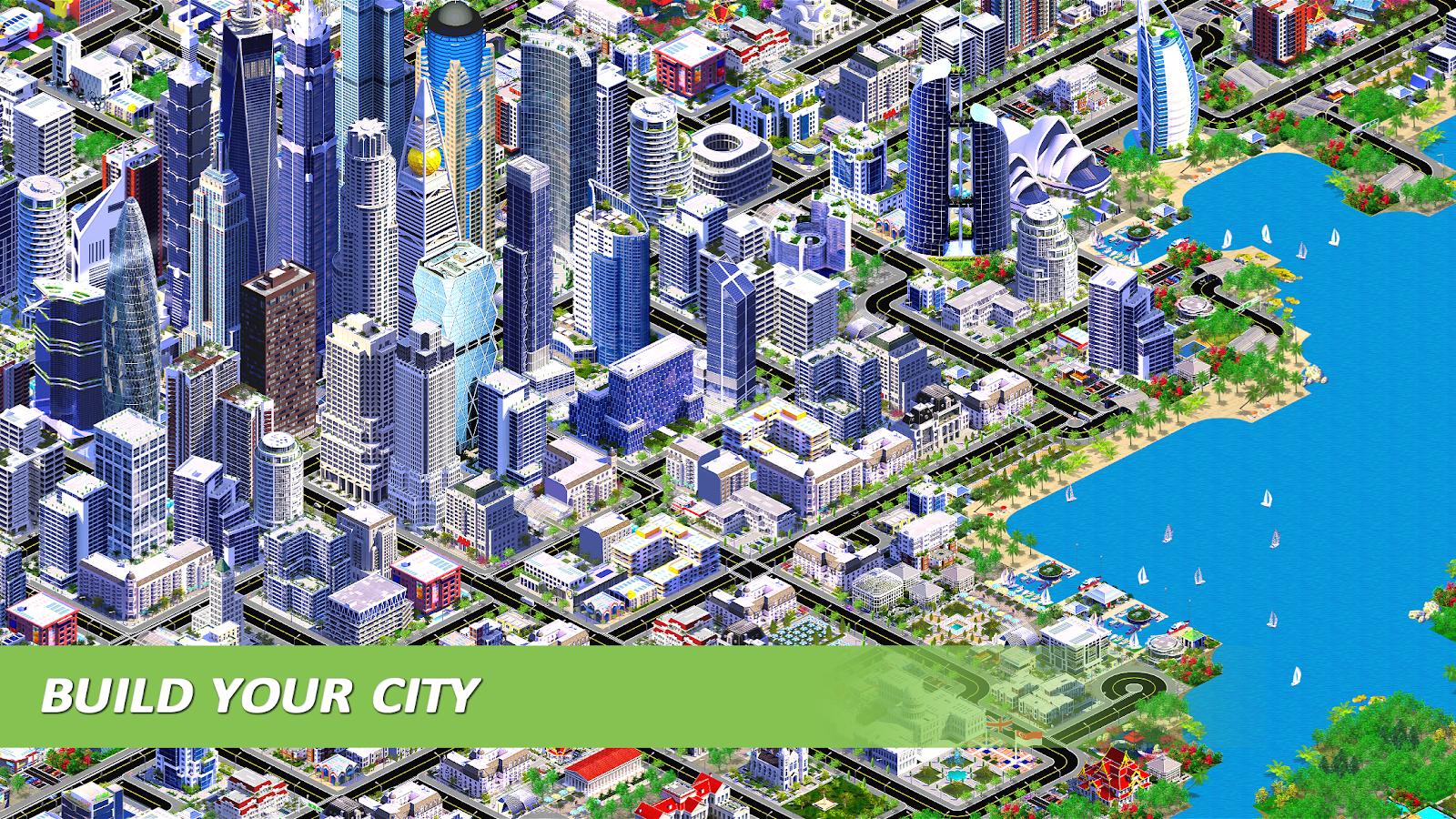 Designer City Building Game 1 61 Apk Download Android Simulation