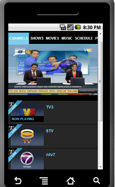 JUKISOFT TV 1 1 APK Download - Android Entertainment Apps