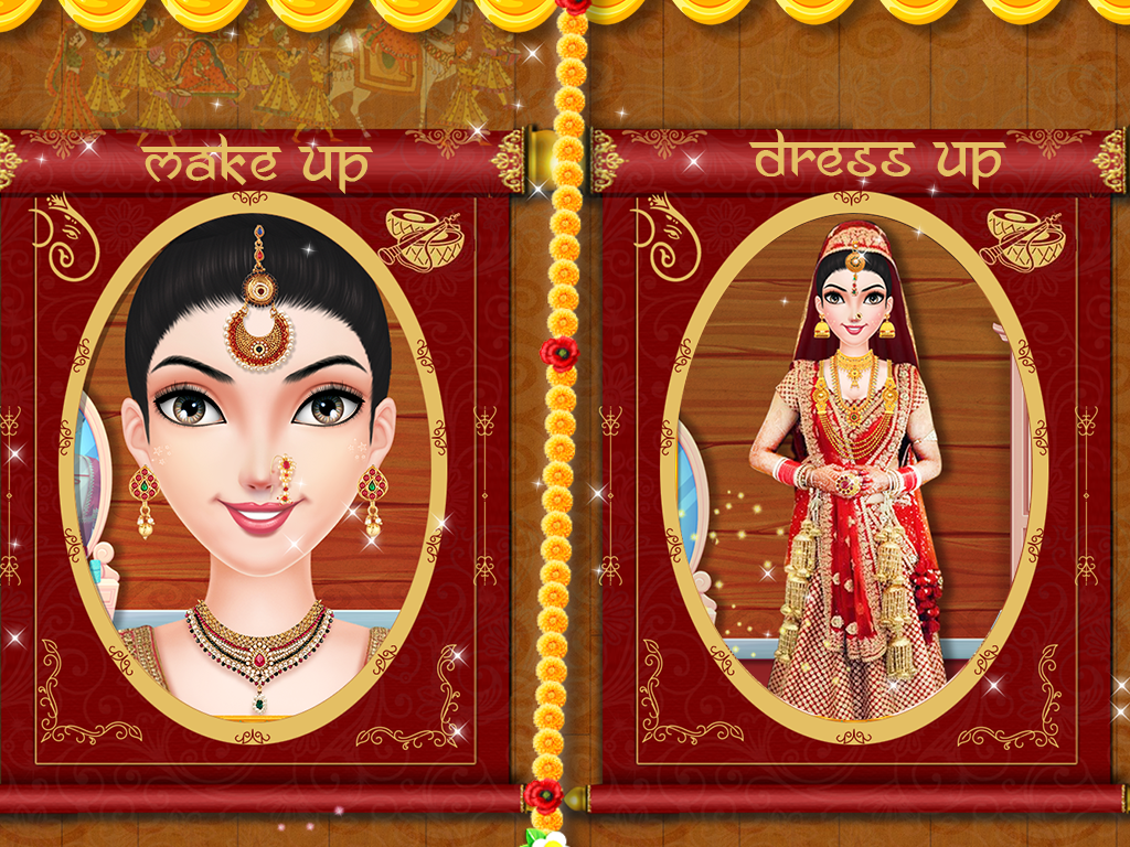 953cb51693 ... Indian Wedding Bride Salon - Dress up   Makeover 6.0 screenshot 18 ...
