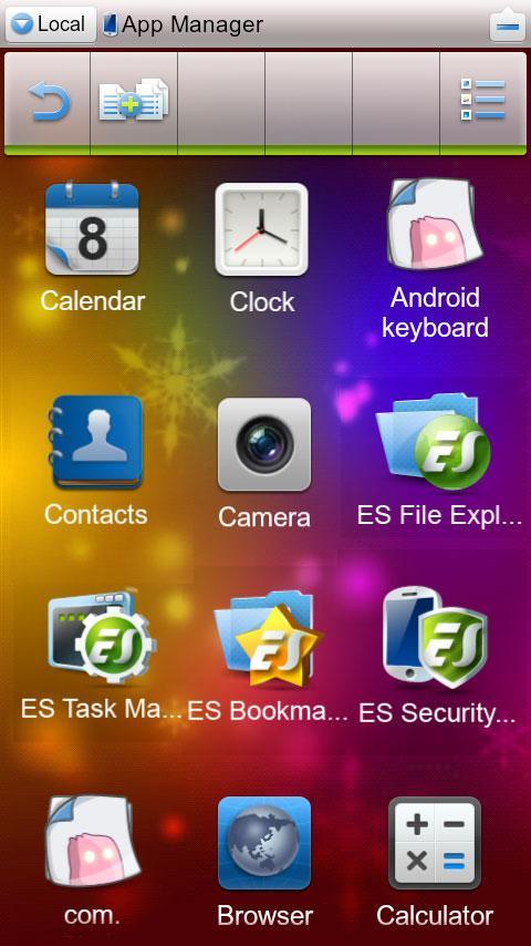es file explorer apk android 2.1