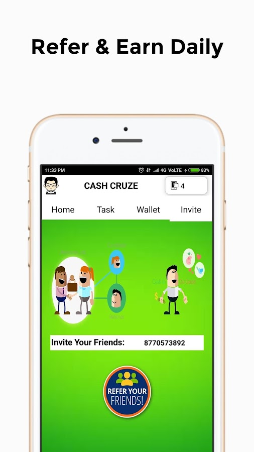 Cash Cruze - Daily Free Paytm Cash 1 0 APK Download