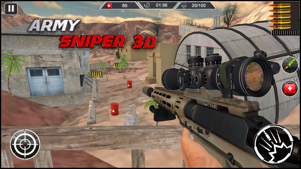 Army Sniper 3d Desert Shooter 1 5 APK Download - Android Action Games