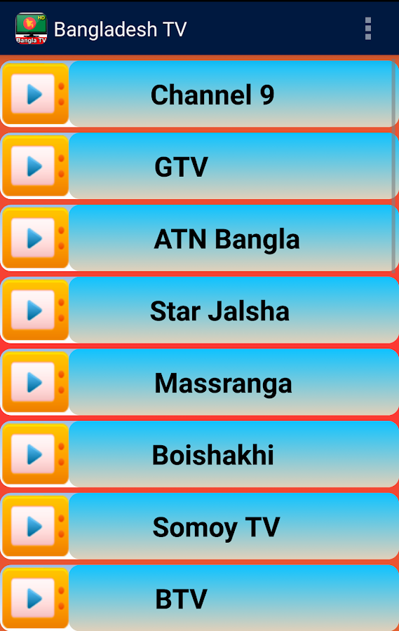 Bangladesh Tv Channel Apps