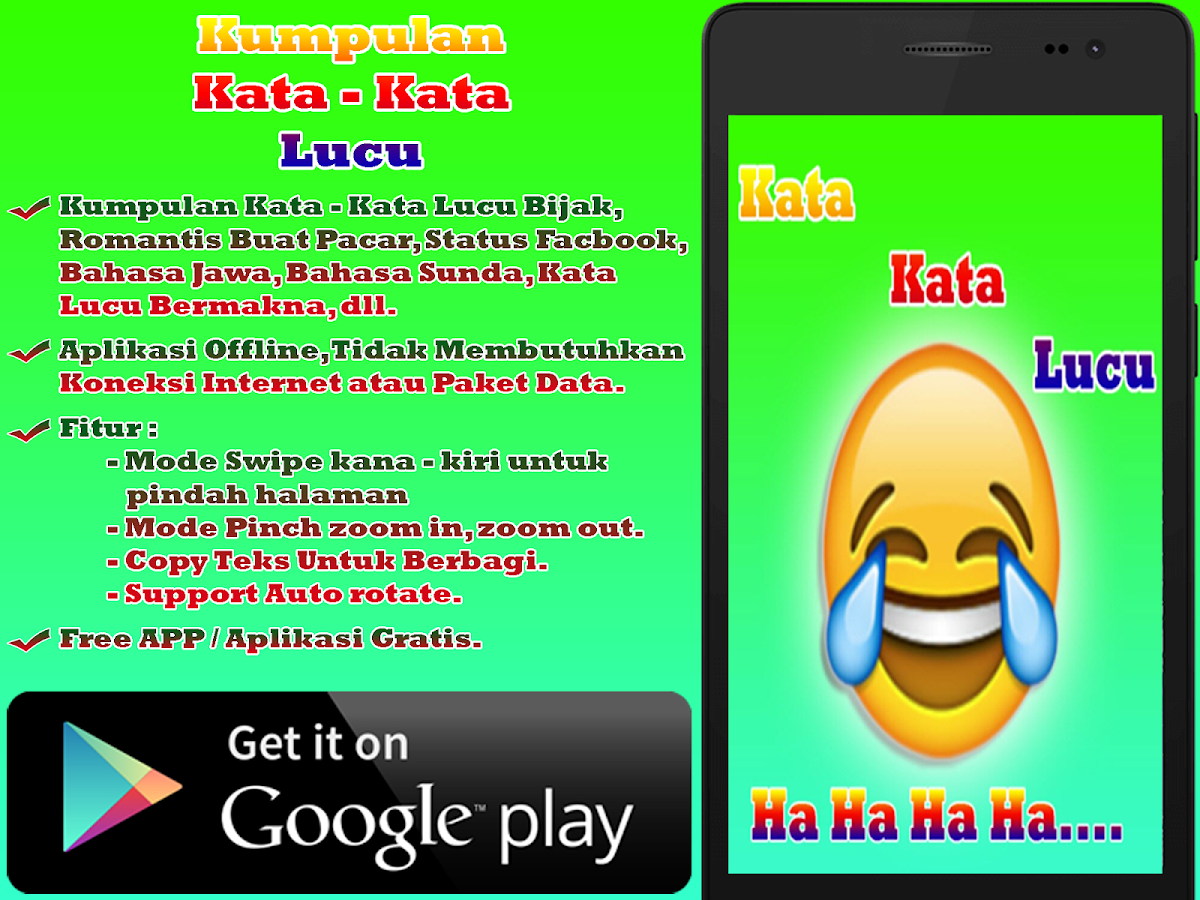Kata Kata Lucu 11 APK Download Android Books Reference Apps