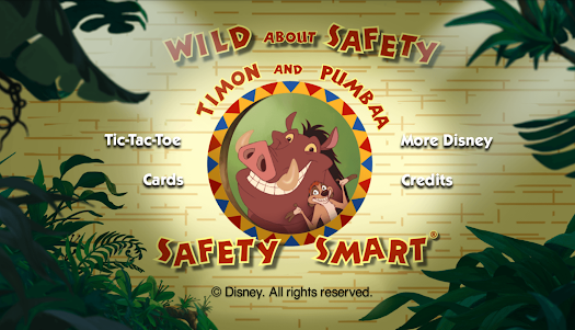 Disney Wild About Safety  screenshot 6