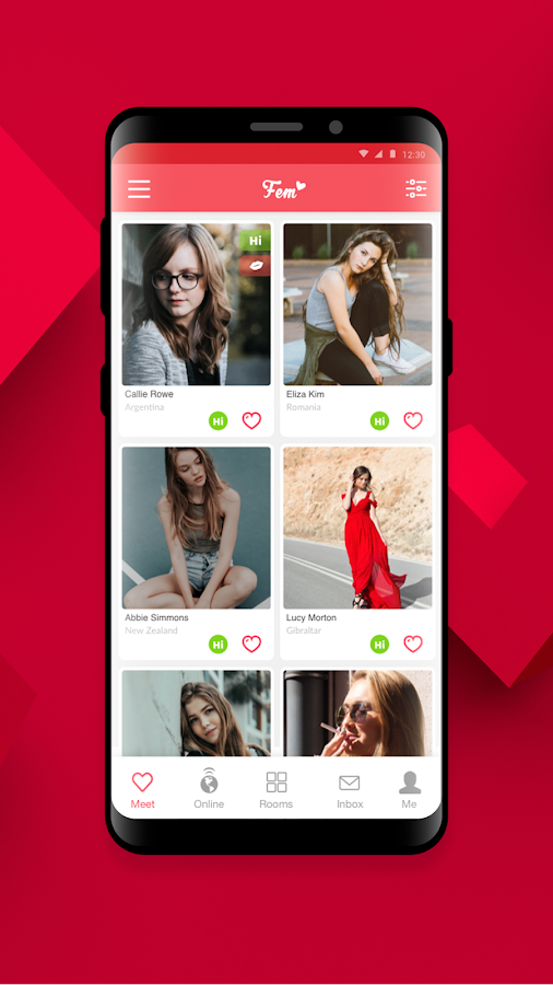 Tinder paras dating App