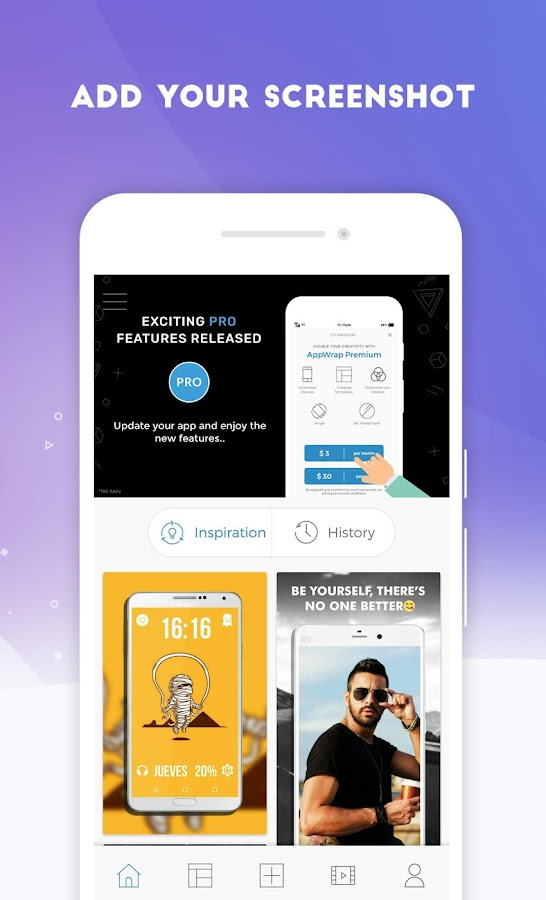 AppWrap : App Screenshot Mockup Generator 2 3 8 APK Download