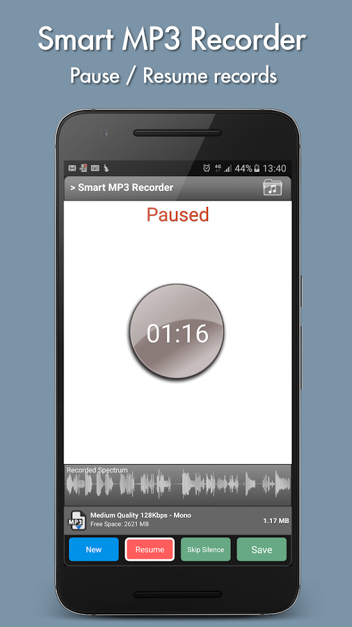 Smart MP3 Recorder 2 1 APK Download - Android Music & Audio Apps