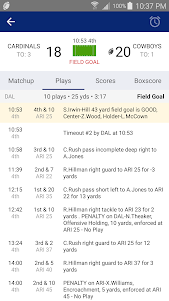49ers Football: Live Scores, Stats, Plays, & Games 7.7 screenshot 19