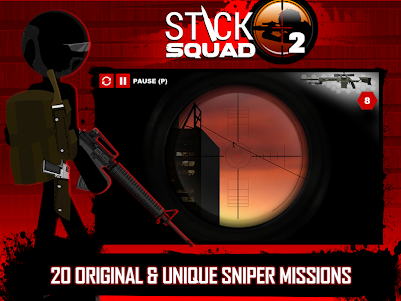 Stick Squad 2 - Shooting Elite 1.3.3 screenshot 9