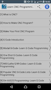 Learn CNC Programming 1.0.2 screenshot 1