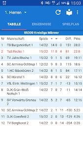 TuS Recke Handball 1.10.1 screenshot 1