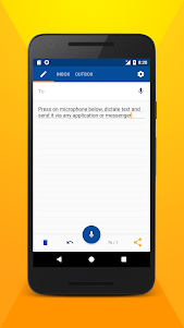 Write SMS by voice 3.3.13 screenshot 1