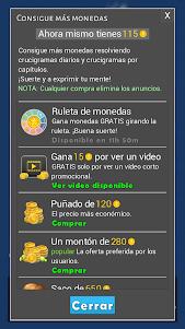 Crosswords - Spanish version (Crucigramas) 1.1.8 screenshot 10