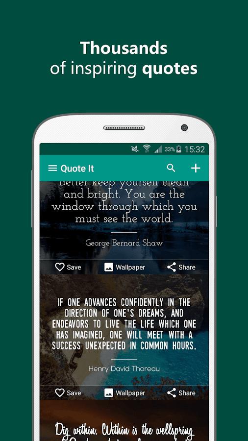 Quote It Quote Maker Wallpaper Generator 113 Apk Download