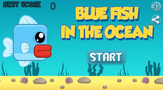 Blue Fish In The Ocean 1.1 screenshot 1