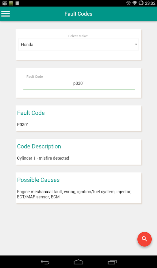 OBD/Manufactures Trouble Codes APK Download - Android Books