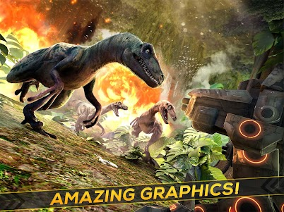 Dino-Robot! Future War 3D Game 1.0.0 screenshot 5