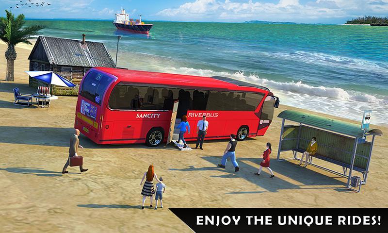 River Bus Driving Tourist Bus Simulator 2018 336 Apk
