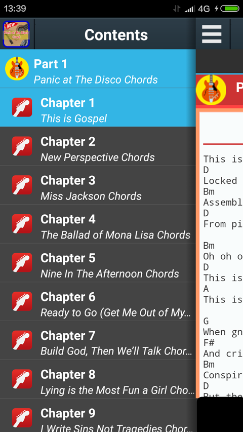 Panic at the Disco Chords 1.1 APK Download - Android Books ...