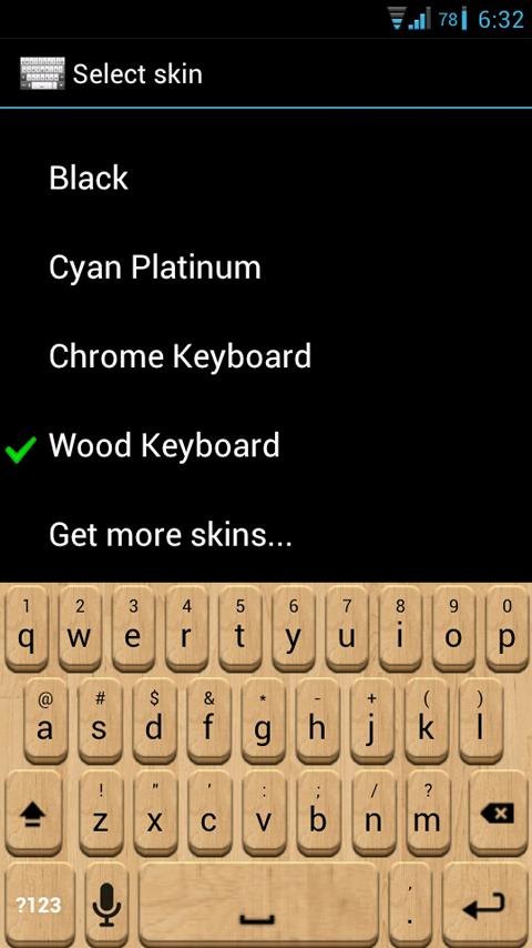 Wood Keyboard Skin 1 0 APK Download - Android Personalization Apps