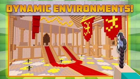 Cube Gun Survival Games C10.1 screenshot 2