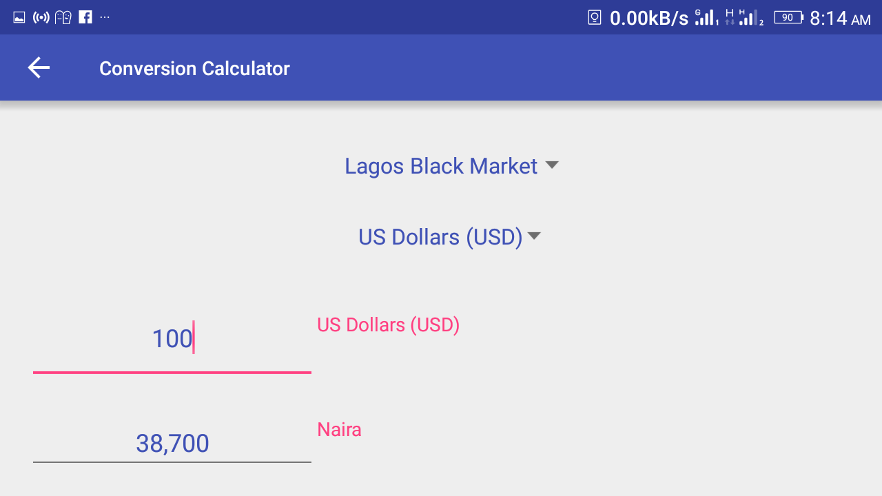 Aboki Forex Provides Daily Updated Currency Exchange Rates Of The Nigerian Naira Shows