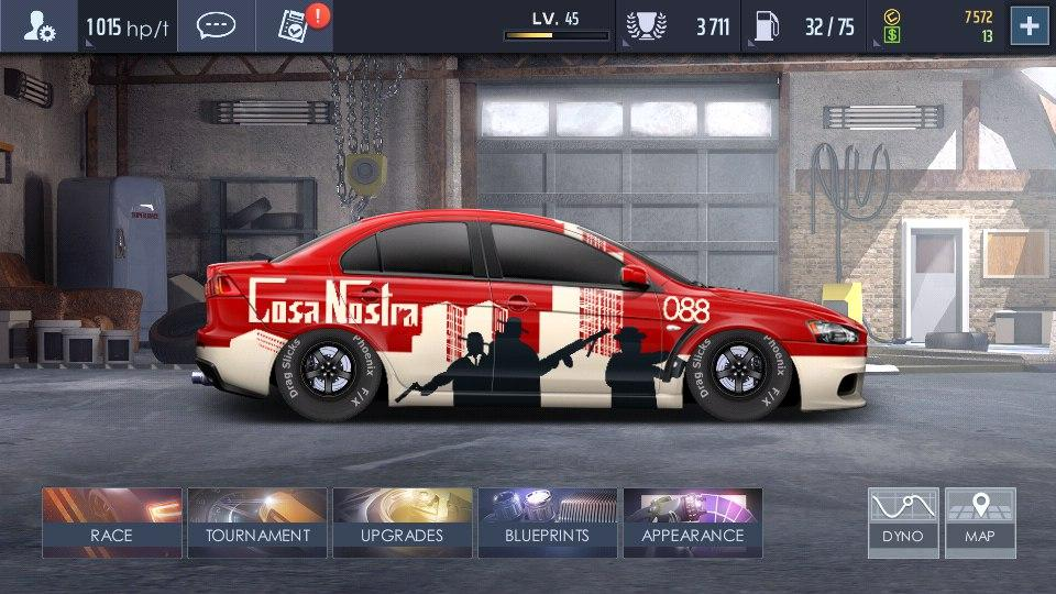top speed drag & fast street racing 3d mod apk terbaru