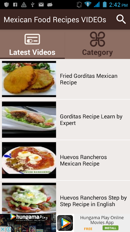 Mexican food recipes videos 11 apk download android entertainment mexican food recipes videos 11 screenshot 2 forumfinder Images