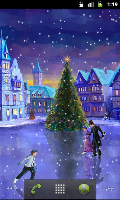 Christmas Rink Live Wallpaper 3000 Apk Download Android