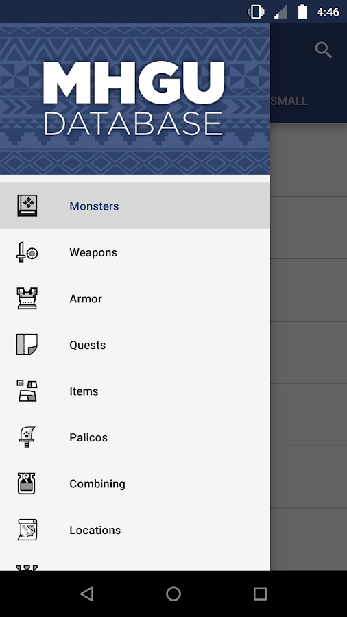 MHGU Database 2 4 1 APK Download - Android Books & Reference