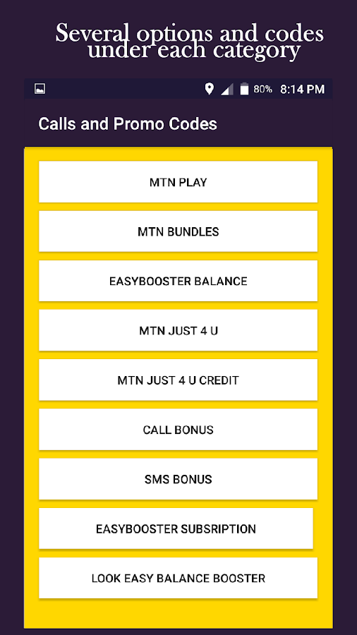 MTN Ghana All Codes 13 APK Download - Android Tools Apps