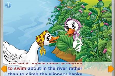 Ugly Duckling StoryChimes FREE 1.5 screenshot 2
