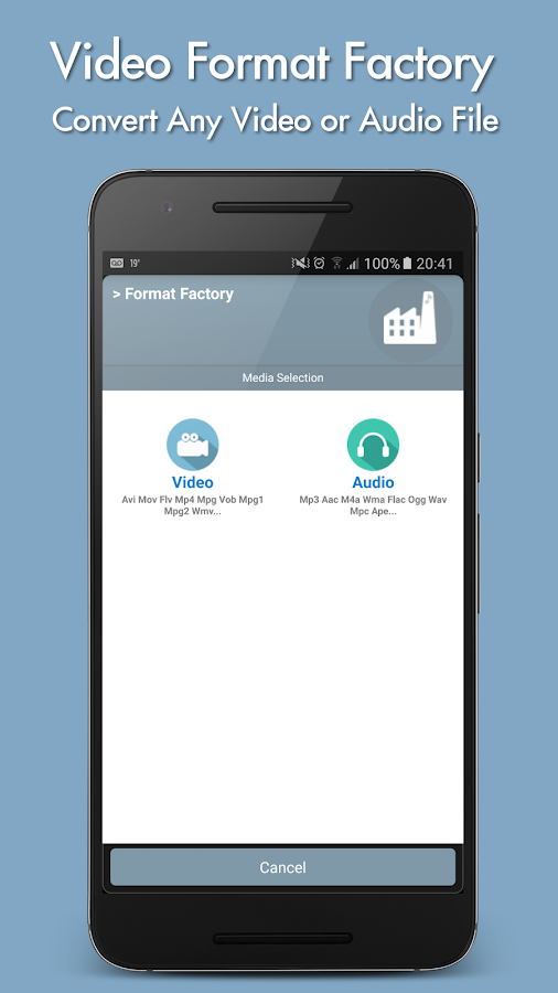 Format factory Apk - checked file | Channelradar